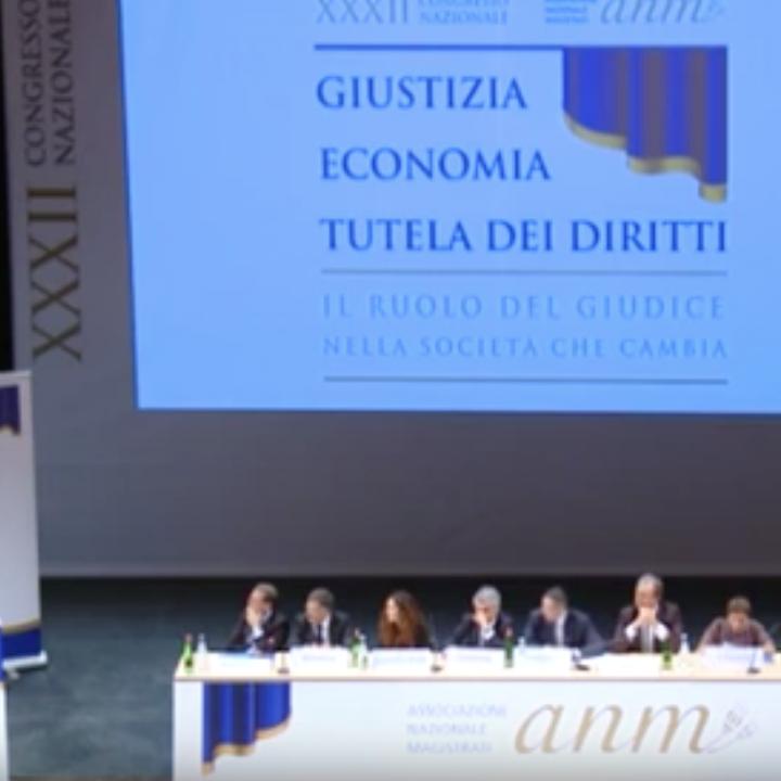 Intervento di Mirella Casiello al Congresso nazionale ANM