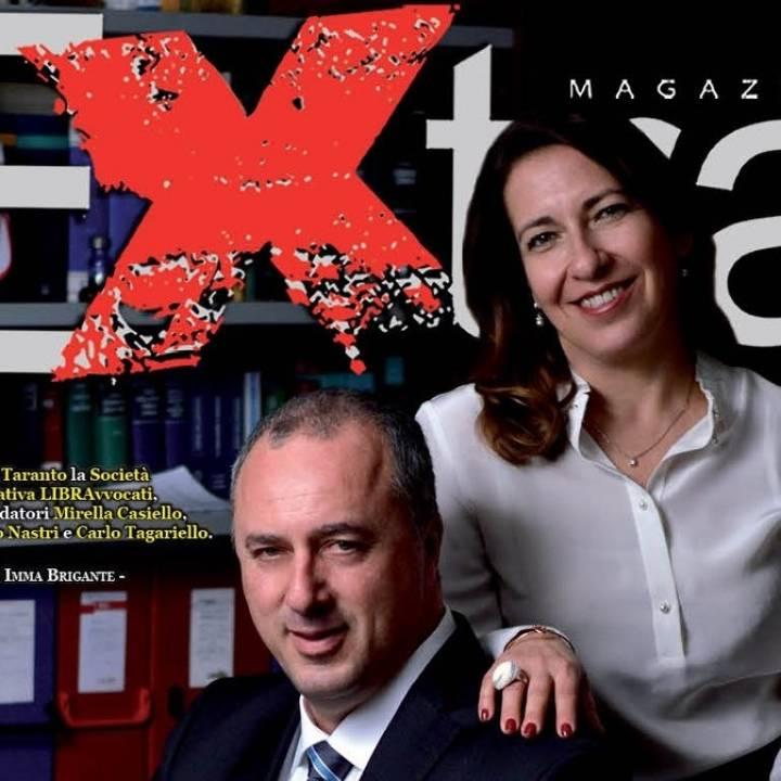 Extra Magazine dedica la copertina a Libra Avvocati