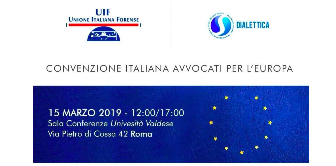 Legge e Giustizia nella casa comune europea – Mirella Casiello alla Tavola Rotonda di Roma il 15 marzo