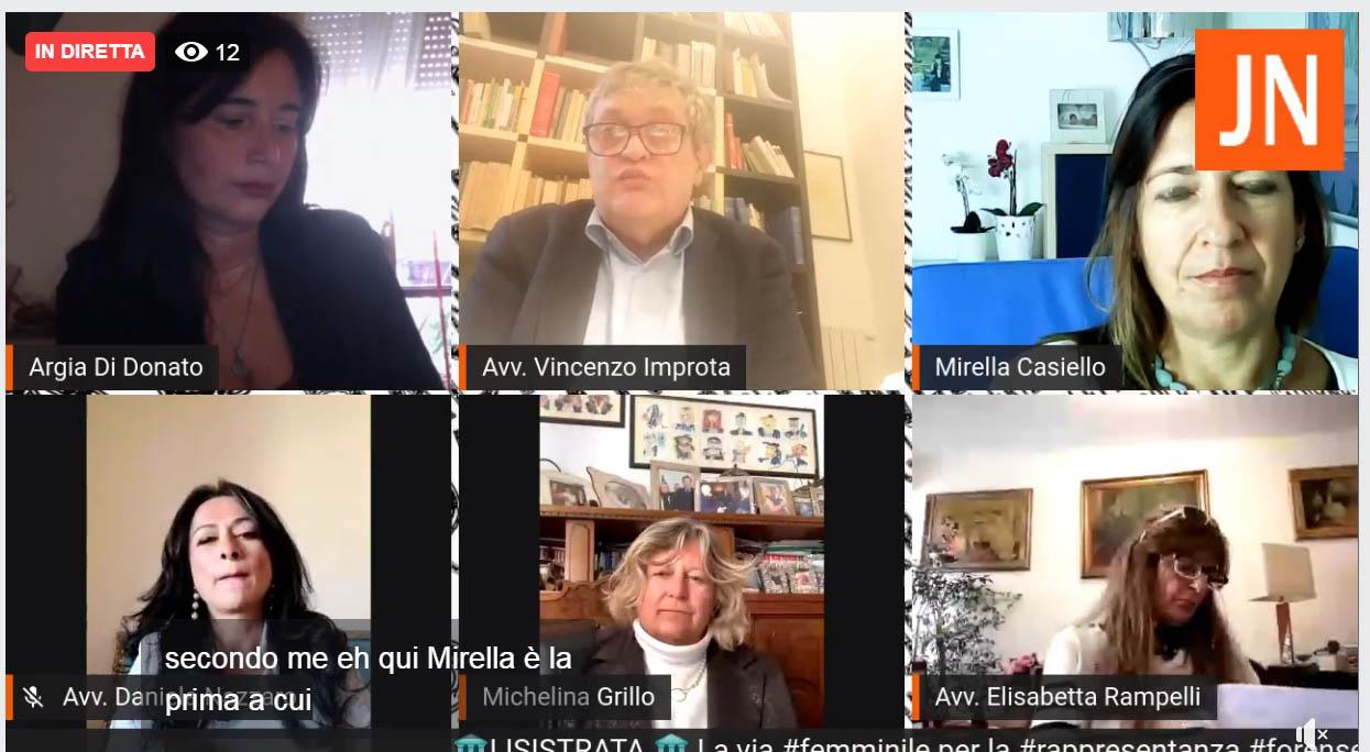 Lisistrata, la via femminile alla rappresentanza forense: la diretta su Juris News