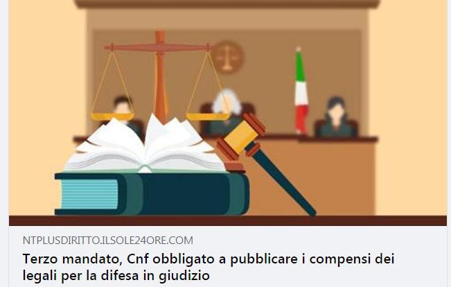 Cnf obbligato a pubblicare i compensi dei consulenti, il Tar dà ragione a Mirella Casiello